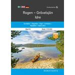 Andet format - Rejse & Ferie Bøger Outdoorkartan Rogen Grövelsjön Idre: Blad 13 Skala 1:75 000