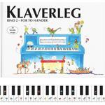 Klaverleg bind 2 - for to hænder (blå): for to hænder