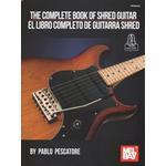 The Complete Book of Shred Guitar: El Libro Completo De... (Bog, Book)