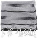 Meraki Hammam Gæstehåndklæde Grå (90x45cm)