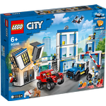 Politi Legetøj Lego City Politistation 60246
