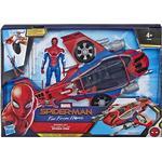 Spider-Man Legetøj Hasbro Marvel Spider Man with Spider Jet E3548
