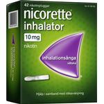 Nicorette Nicotine 10mg 42stk
