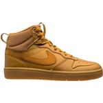 Nike Court Borough Mid 2 GS - Wheat/Gum Medium Brown/Wheat