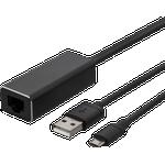 Deltaco RJ45-USB A/USB Micro B M-F 1m