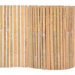 vidaXL Bamboo Fence 1000x30cm