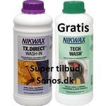 Tøjpleje & Imprægnering Nikwax Tech Wash 1L + TX Direct 1L