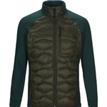 Jakker Herretøj Peak Performance Helium Hybrid Jacket - Forest Night