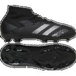 Fodboldstøvler Børnesko Adidas Junior Predator Mutator 20.1 FG - Core Black/Core Black/Silver Metallic