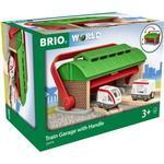 Togtilbehør Brio Train Garage with Handle 33474