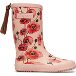Uforede gummistøvler Børnesko Bisgaard Fashion - Nude Flowers
