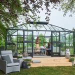 Juliana grand oase Drivhuse Juliana Grand Oasis 18.8m² Aluminium Hærdet glas