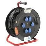 as - Schwabe 26100 6-way 80m Cable Drum