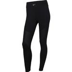 Nike Pro AeroAdapt Tights Women - Black/Metallic Silver