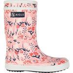 Uforede vinterstøvler Børnesko Aigle Lolly Pop Rubber Boots - Bloomfield Print