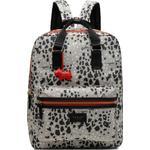 Tasker Radley Leopard Oilskin Large Backpack - Dove Grey