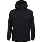 Herretøj Peak Performance Adventure Jacket with Hood - Black