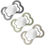 Bibs Supreme Silicone Pacifier 6-36m 3-pack