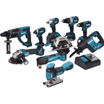 Makita DLX1015TJ1 Set