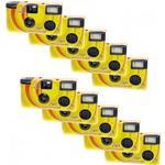 Engangskamera Novocolor Disposable Cameras with Flash 10 Pcs