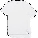T-Shirts & Toppe Herretøj Polo Ralph Lauren Slim Crew Neck T-shirt 3-pack - White