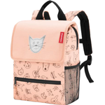 Rygsæk Reisenthel Backpack - Cats and Dogs Rose