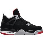 Nike Air Jordan 4 Retro M - Black/Cement Grey/Summit White/Fire Red