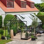 Halls Qube 816 13m² 3mm Aluminium Hærdet glas