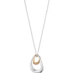 Georg Jensen Offspring Pendant Necklace - Silver/Rose Gold