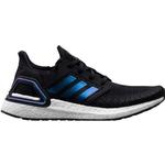 Sportssko Børnesko Adidas Ultraboost 20 - Core Black/Boost Blue Violet Met/Cloud White