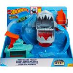 Legesæt Hot Wheels City Color Shifter Shark Jump Play Set