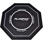 Floor mat Florpad Game Zone Floor Mat - Black