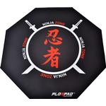 Floor mat Florpad Ninja Zone Floor Mat - Black