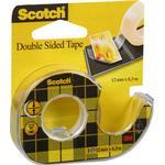 Kontorartikler Scotch Double Sided Tape 12mmx6.3m