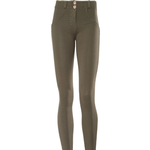 Freddy WR.UP Mid Rise Skinny Fit Trousers - Khaki Green
