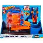 Legesæt Hot Wheels City Super Spin Dealership