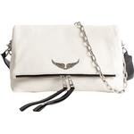 Håndtasker Zadig & Voltaire Rock Grained Bag - Hvid