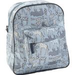 Rygsæk Smallstuff Animal Prints - Light blue
