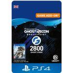 Gavekort Ubisoft Ghost Recon: Breakpoint - 2400+400 Coins - PS4