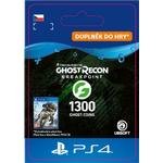 Gavekort Ubisoft Ghost Recon: Breakpoint - 1200+100 Coins - PS4