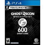 Gavekort Ubisoft Ghost Recon: Breakpoint - 600 Coins - PS4
