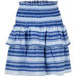 Neo Noir Carin Stitch Skirt - Light Blue