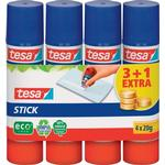 TESA Eco Logo Glue Stick 4x20g