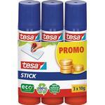 TESA Glue Stick Promo 3x10g