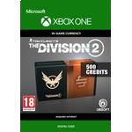 Gavekort Ubisoft Tom Clancy's The Division 2 - 500 Premium Credits - Xbox One