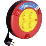 Kabeltromle LogiLink LPS500 4-way 5m Cable Drum