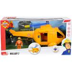 Legetøjshelikopter Simba Sam Helicopter Wallaby II with Figurine 109251002