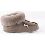 Børnesko Shepherd Osby sheepskin slippers - Stone