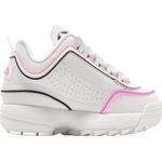 Sneakers Børnesko Fila Junior Disruptor ll - White/Rosa