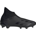 Adidas Predator 20.3 FG Cleats - Core Black/Dgh Solid Grey